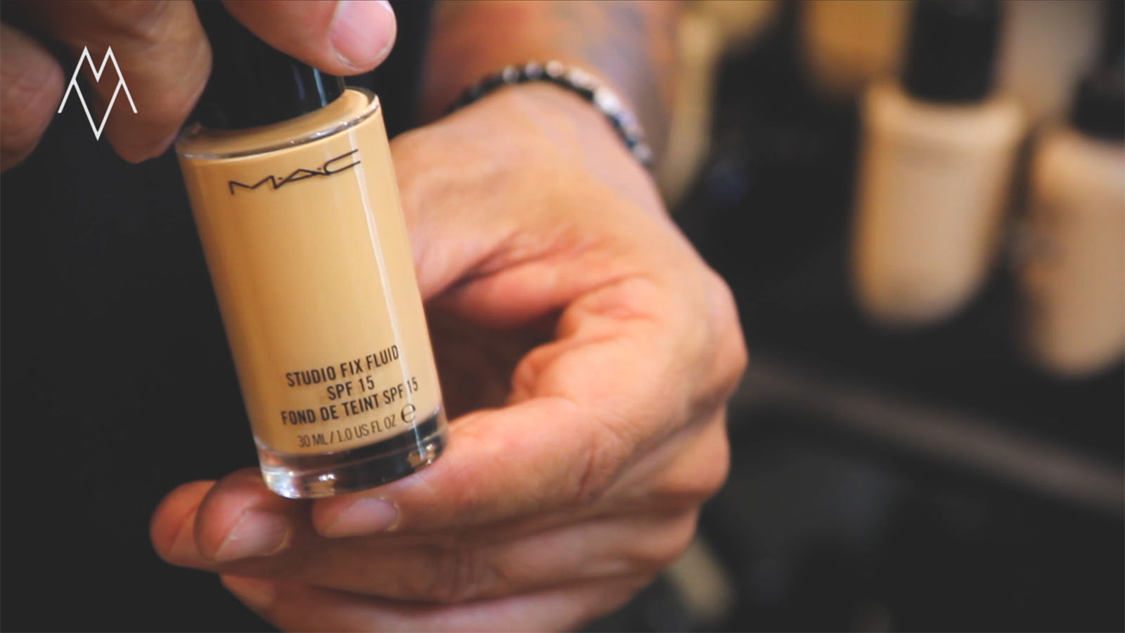 mac fluid studio fix foundation spf15