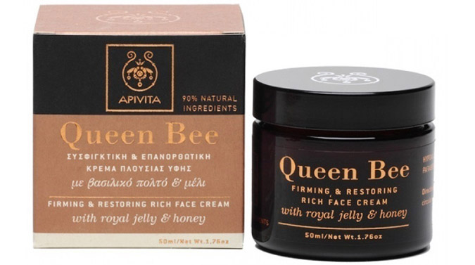 queen bee apivita firming restoring cream greek product
