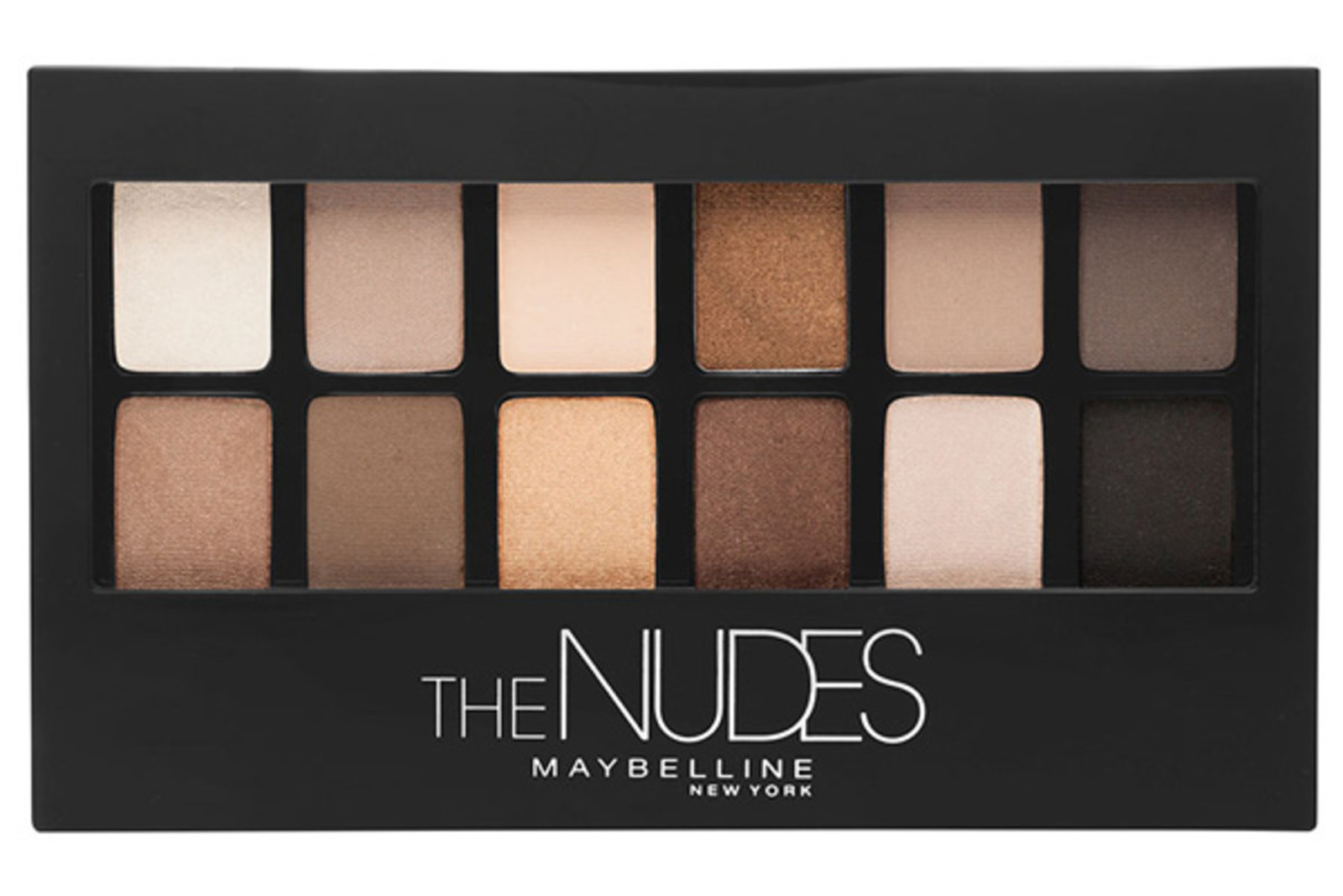 maybelline the nudes eyeshadow palette 1